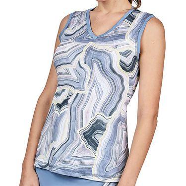 Sofibella Blue Moon Full Back Tank Womens Quartz 2061 QRZ
