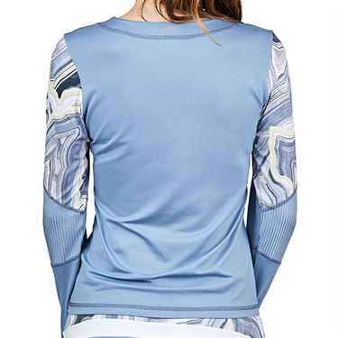 Sofibella Blue Moon Long Sleeve Top Plus Size Womens Patagonia 2064 PTGP