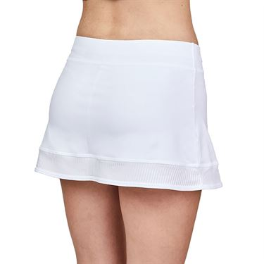 Sofibella Alignment 12 inch Skirt Womens White 2068 WHT