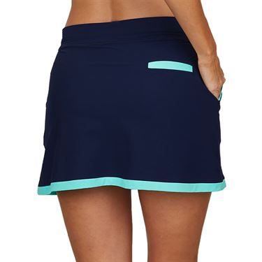 Sofibella Speed Lines 16 inch Skirt Womens Navy 2072 NVY