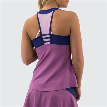 Lija Strike A Pose Echo Tank Womens Plum/Mystic Navy/Ice Berry 20S 1647T1