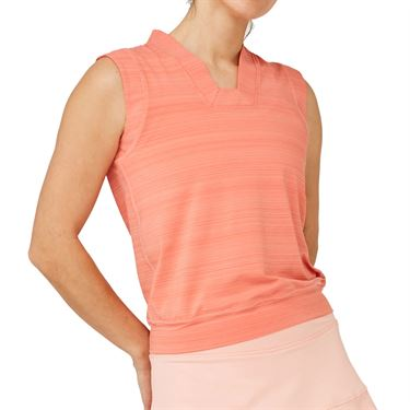 Lija Sweet Spot Crop Tank Womens Watermelon/Conch Shell 20S 1656T3