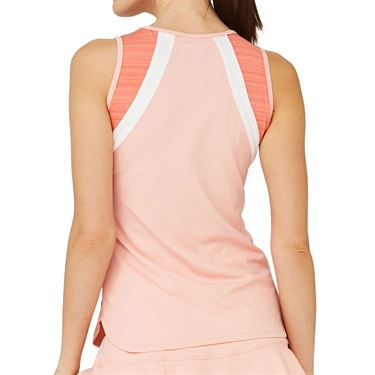 Lija Sweet Spot Bea Tank Womens Conch Shell/White/Watermelon 20S 1664T3