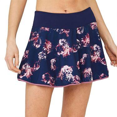 Lija Strike A Pose Swift Skirt Womens Navy Flowers 20S 4558T1