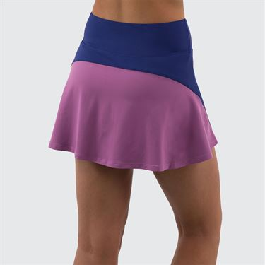 Lija Strike A Pose Drill Skirt Womens Mystic Navy/Plum 20S 4569T1