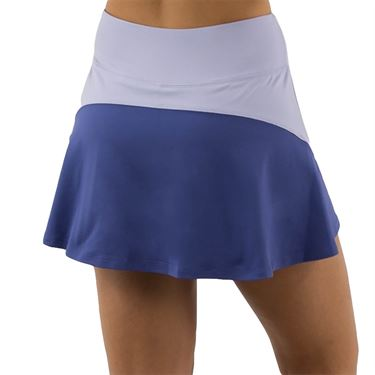 Lija Winning Streak Drill Skirt Womens Periwinkle/Grotto Blue 20S 4569T2