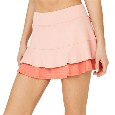 Lija Sweet Spot Center Point Skirt Womens Conch Shell/Watermelon 20S 4581T3