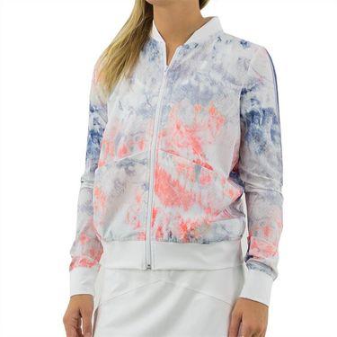 Lija Winning Streak Celia Jacket Womens Tie Dye/White 20S 6523T2