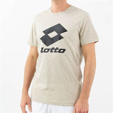 Lotto Smart Training Tee Shirt Mens Chalk 210609 5P8