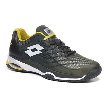 Lotto Mirage 100 Speed Mens Tennis Shoe - Green Resin/White/Apple Green