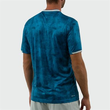 Lotto Top Ten Printed Crew - Mosaic Blue