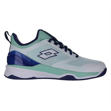 Lotto Mirage 200 Speed Womens Tennis Shoe - White/Blue/Green