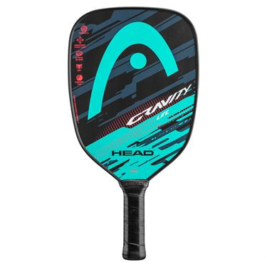 Head Gravity Lite Pickleball Paddle - Teal/Crimson