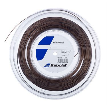Babolat RPM Power 16G (660 FT) REEL - Electric Brown