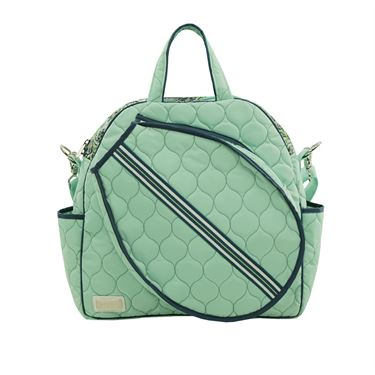 Cinda B Purely Peacock Tennis Court Bag - Green