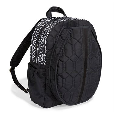 Cinda B Jet Set Black Tennis Backpack