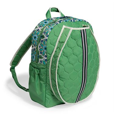 Cinda B Verde Bonita Tennis Backpack