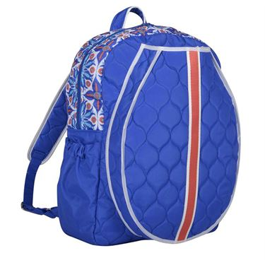 Cinda B Royal Bonita Tennis Backpack