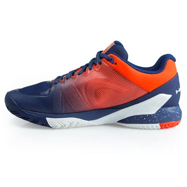 Head Revolt Pro 2.5 Mens Tennis Shoe - Blue/Flame Orange