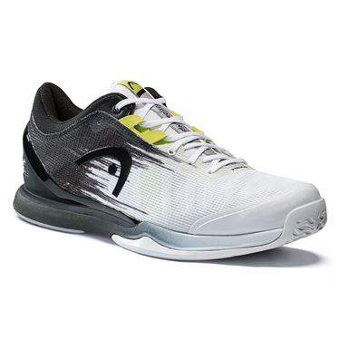 Head Sprint Pro 3.0 Mens Tennis Shoe White/Black 273021