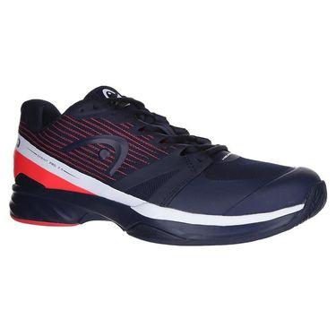 Head Sprint Pro 2.5 Mens Tennis Shoe - Dark Blue/Neon Red