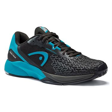 Head Revolt Pro 3.5 Mens Tennis Shoe Black/Teal 273121