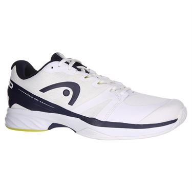 Head Sprint Pro 2.5 Mens Tennis Shoe - White/Dark Blue