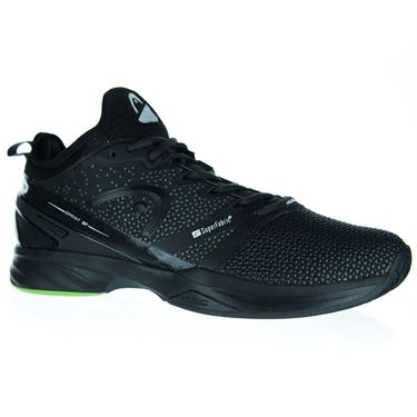 Head Sprint SuperFabric Mens Tennis Shoe - Black/Grey