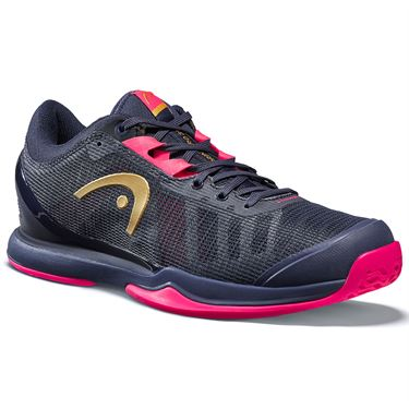 Head Sprint Pro 3.0 Womens Tennis Shoe Dark Blue/Pink 274000