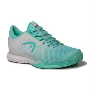 Head Sprint Pro 3.0 Womens Tennis Shoe Teal/White 274040