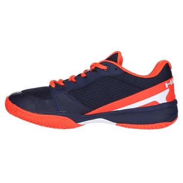 Head Sprint Pro 2.5 Junior Tennis Shoe - Dark Blue/Neon Red
