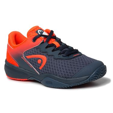 Head Sprint 3.0 Junior Tennis Shoe Midnight Navy/Neon Red 275300