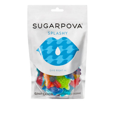 Sugarpova Splashy Aquatic Mix Gummy Candy