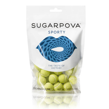 Sugarpova Sporty Tennis Ball Chewing Gum