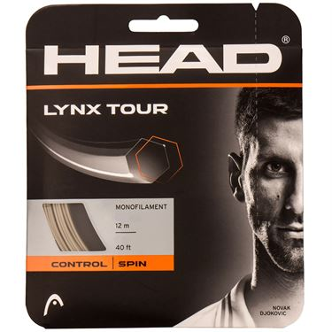 Head Lynx Tour 17G Grey Tennis String