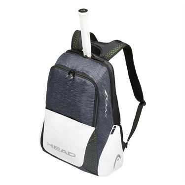 Head Djokovic Backpack Tennis Bag - Black/White