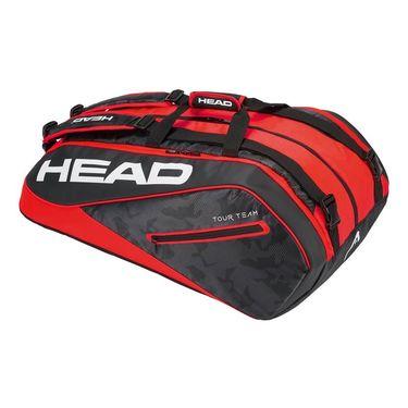 Head Tour Team 9 Pack Supercombi Tennis Bag - Black/Red