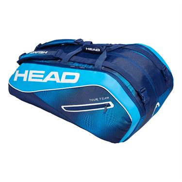 Head Tour Team 12 Pack Monstercombi Tennis Bag - Navy/Blue