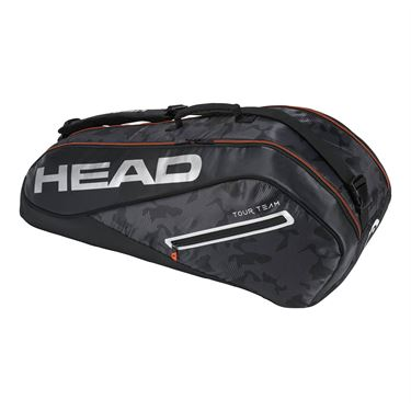Head Tour Team 6 Pack Combi Tennis Bag - Light Blue/Sand
