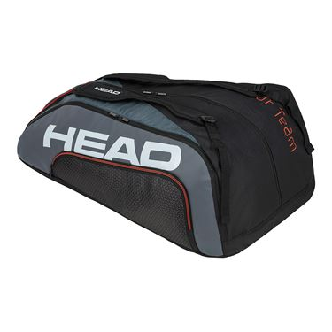 Head Tour Team 12 Racquet Monstercombi Tennis Bag - Black/Grey