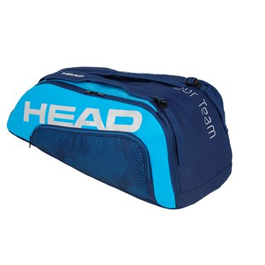 Head Tour Team 9 Racquet Supercombi Tennis Bag - Navy Blue