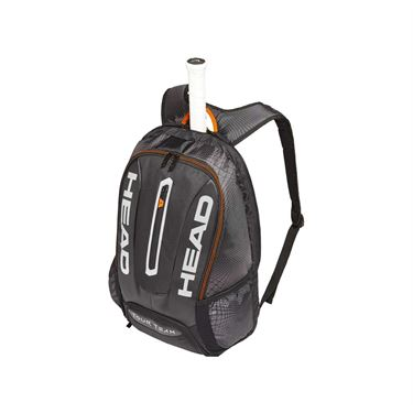 Head Tour Team Tennis Backpack - Black/Silver