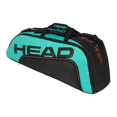 Head Tour Team 6 Racquet Combi Tennis Bag - Black/Teal