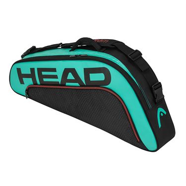 Head Tour Team 3 Racquet Pro Tennis Bag - Black/Teal
