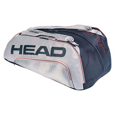 Head Tour Team 12 Racquet Monstercombi Tennis Bag - Black/Purple