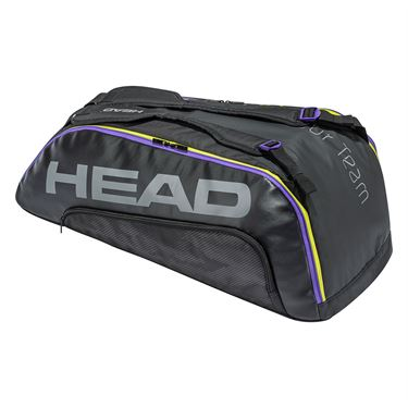Head Tour Team 9 Racquet Combi Tennis Bag - Black/Purple
