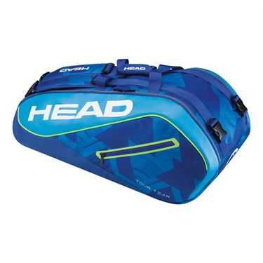 Head Tour Team 9 Pack Supercombi Tennis Bag - Blue