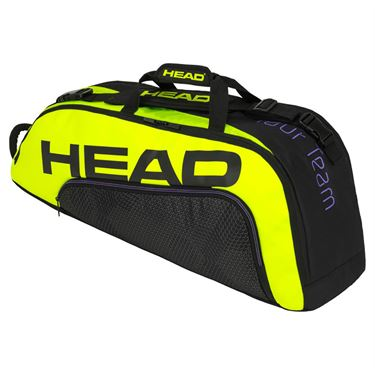 Head Tour Team Extreme 6 Pack Combi Tennis Bag - Black/Neon Yellow