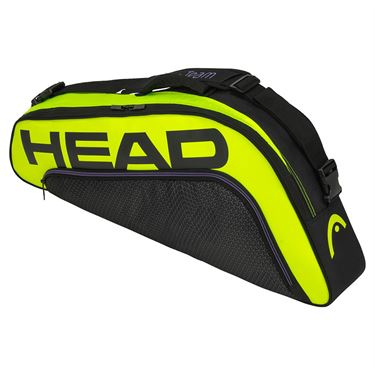 Head Tour Team Extreme 3 Pack Pro Tennis Bag - Black/Neon Yellow