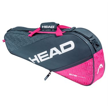 Head Elite Pro 3 Pack Tennis Bag - Anthracite/Pink
